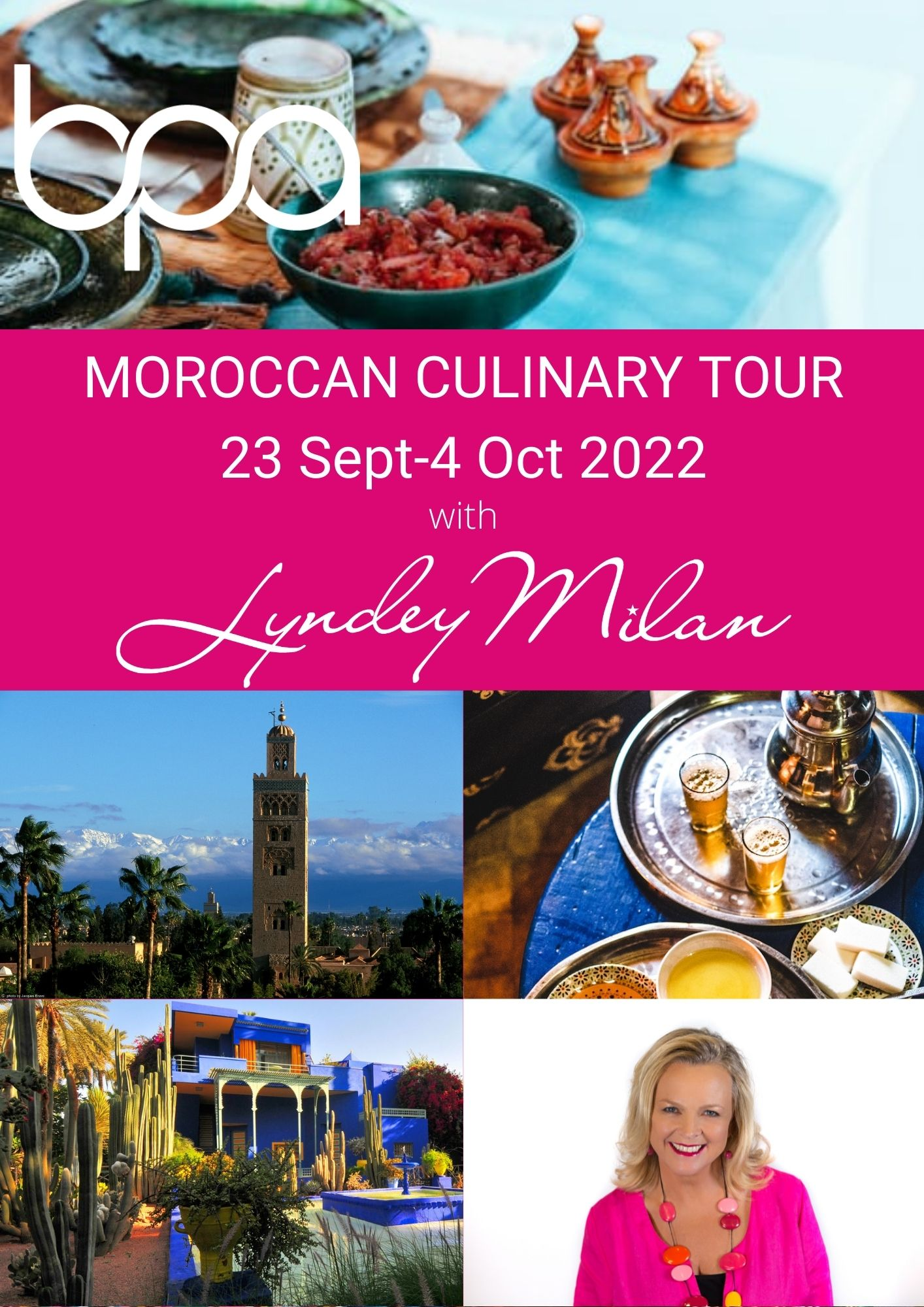 Moroccan Culinary Tour 23 Sept – 4 Oct 2022 (part 1)