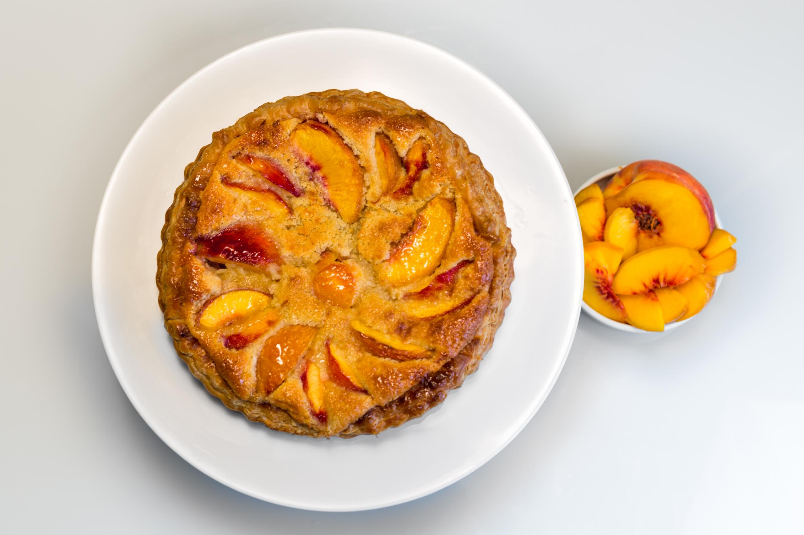 summer frangipane tart