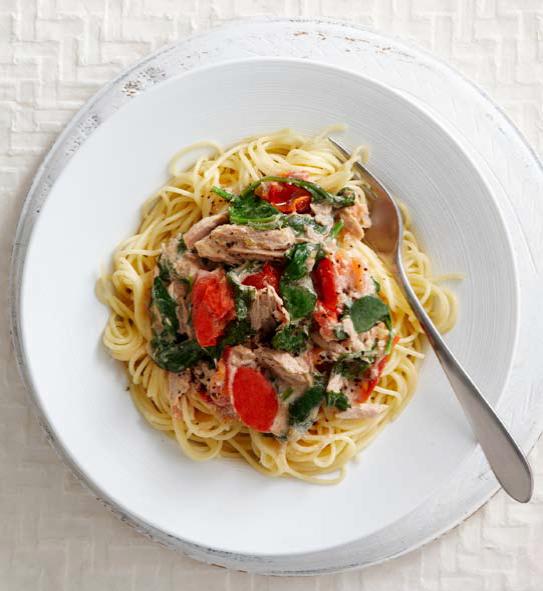 Chilli tuna pasta